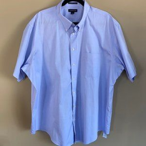 Land's End Pinpoint Oxford Short Sleeve Shirt